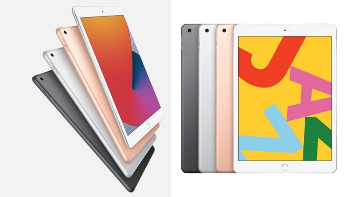 Thiết kế không có gì khác biệt của iPad 8th