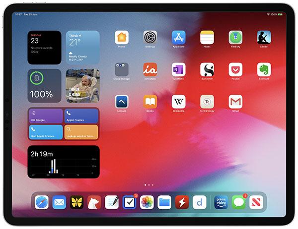 iPad mới chạy iPadOS 14