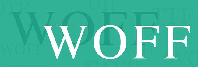 Web Open Font Format (WOFF) là một định dạng file cho phông chữ web do Mozilla phát triển