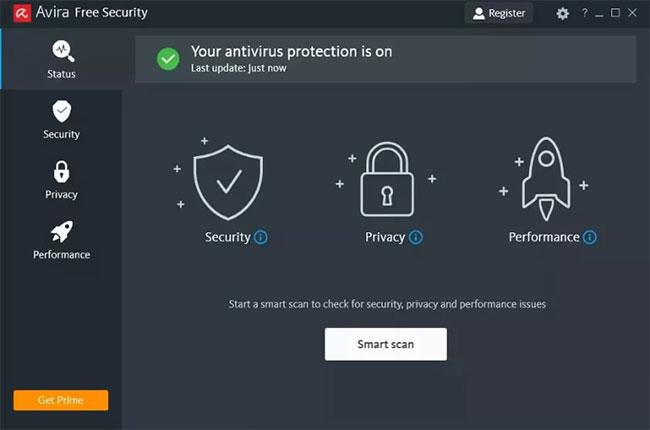 Chạy quét virus/phần mềm độc hại