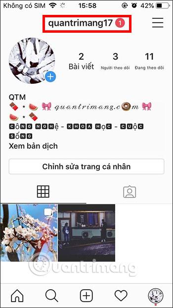 Cách tạo link tài khoản Instagram để chia sẻ