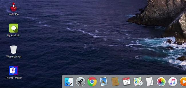 Làm cho Pi trông giống như máy Mac
