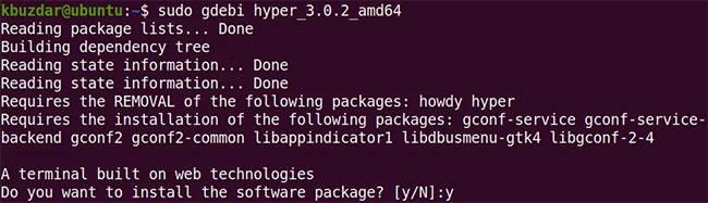 Cài đặt Hyper Terminal