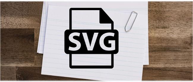File SVG sử dụng định dạng văn bản dựa trên XML để mô tả cách hình ảnh xuất hiện