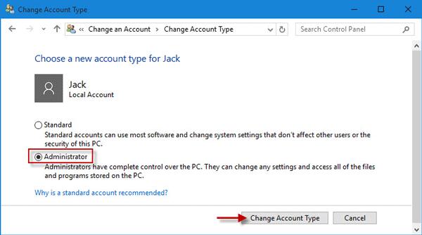 Mất quyền Admin trên Windows 10, đây là cách khắc phục - Ảnh minh hoạ 7