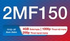 Cách đăng ký 2MF150 MobiFone nhận 120GB/tháng
