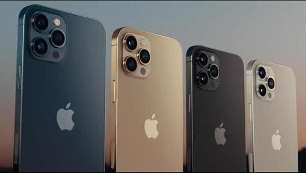Màu sắc của iPhone 12 Pro và 12 Pro Max