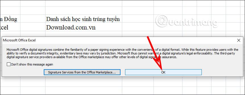 Cách chèn chữ ký trong Excel - Ảnh minh hoạ 2