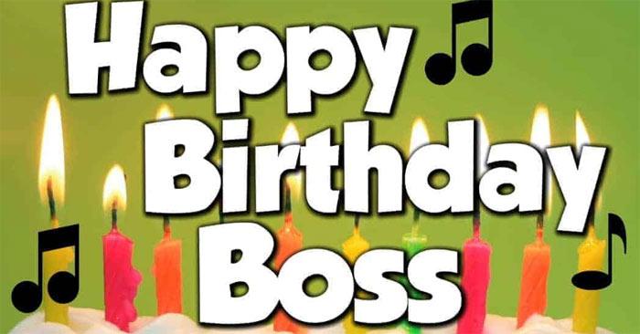 Chúc mừng sinh nhật sếp