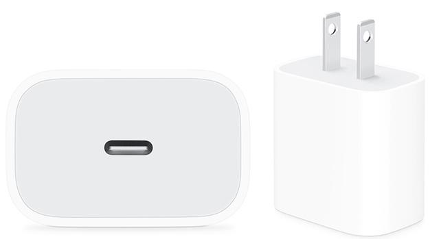 Hình ảnh củ sạc 20W bán trên Apple.com