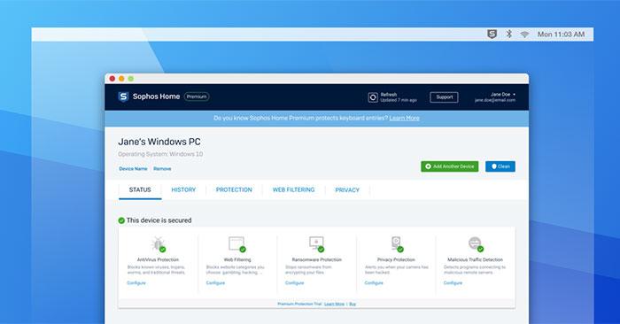 Đánh giá Sophos Home Free: Sản phẩm bảo mật và diệt virus cấp doanh nghiệp cho người dùng cá nhân