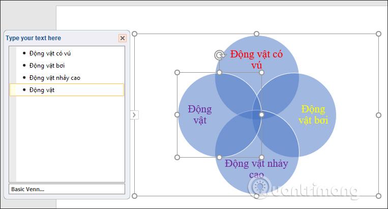 Cách vẽ sơ đồ tập hợp trong PowerPoint - Ảnh minh hoạ 4
