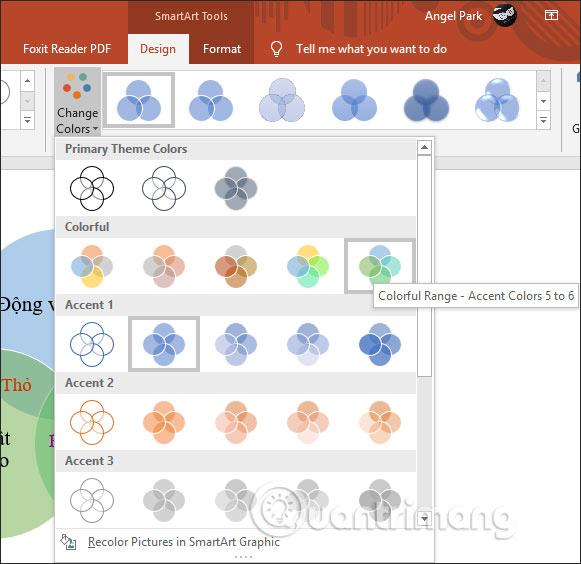 Cách vẽ sơ đồ tập hợp trong PowerPoint - Ảnh minh hoạ 6