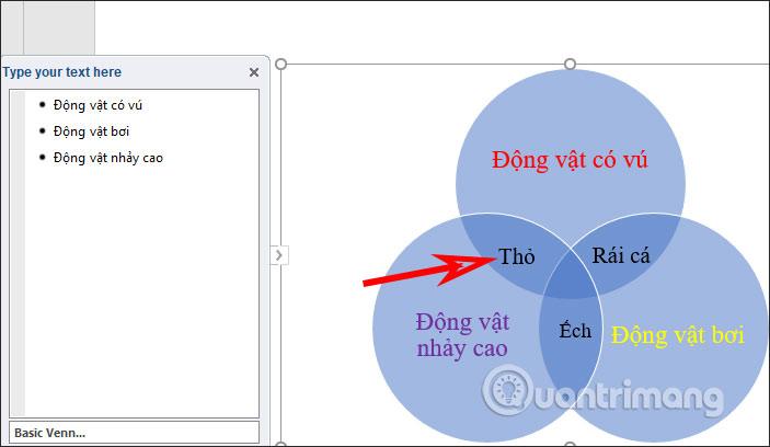 Cách vẽ sơ đồ tập hợp trong PowerPoint - Ảnh minh hoạ 5