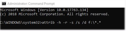 Sửa lỗi file trong ổ flash biến thành shortcut - Ảnh minh hoạ 2