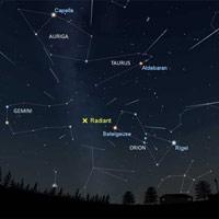 Mưa sao băng Orionids diễn ra vào tối nay (ngày 21/10), có thể quan sát bằng mắt thường
