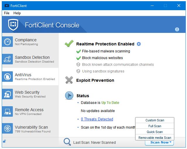 Đánh giá FortiClient: Chương trình diệt virus miễn phí đa nền tảng - Ảnh minh hoạ 2