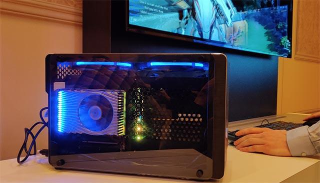 Nguyên mẫu DG1 được trưng bày tại CES 2020.