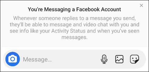Cách nhắn tin Facebook Messenger từ Instagram - Ảnh minh hoạ 3