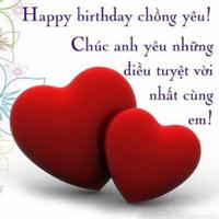 Lời chúc sinh nhật chồng yêu ý nghĩa và ngọt ngào
