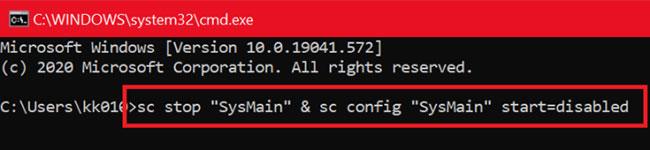Khắc phục tình trạng Service Host SysMain sử dụng nhiều CPU và bộ nhớ trong Windows 10 - Ảnh minh hoạ 2