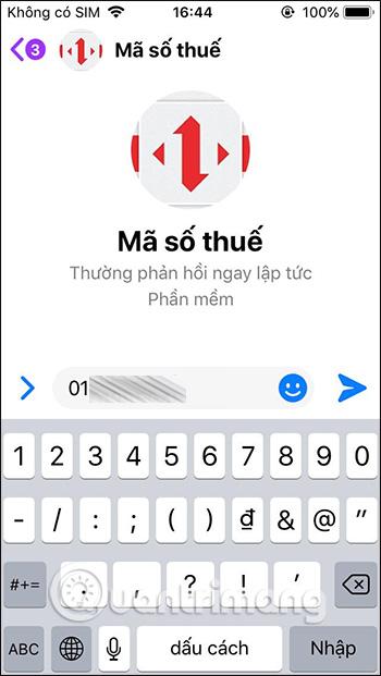 Tra trên Messenger
