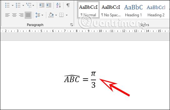 Cách gõ ký hiệu góc trong Word - Ảnh minh hoạ 3