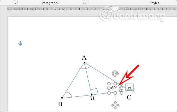 Cách vẽ hình trong Word, vẽ hình học trong Word - Ảnh minh hoạ 10