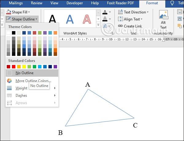 Cách vẽ hình trong Word, vẽ hình học trong Word - Ảnh minh hoạ 3