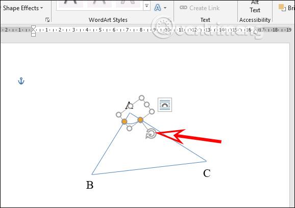 Cách vẽ hình trong Word, vẽ hình học trong Word - Ảnh minh hoạ 6