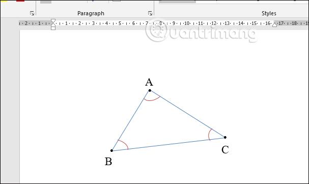 Cách vẽ hình trong Word, vẽ hình học trong Word - Ảnh minh hoạ 7