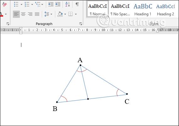 Cách vẽ hình trong Word, vẽ hình học trong Word - Ảnh minh hoạ 8