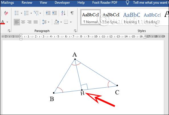 Cách vẽ hình trong Word, vẽ hình học trong Word - Ảnh minh hoạ 9