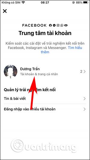 Cách tắt đồng bộ avatar Facebook và Instagram - Ảnh minh hoạ 3