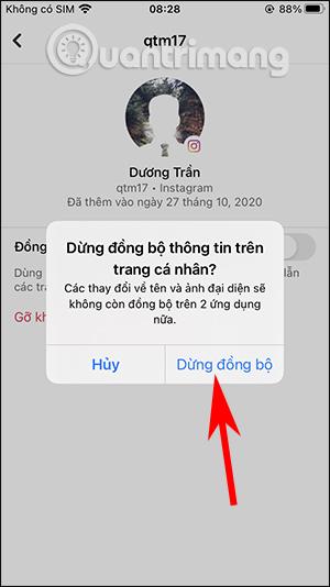 Cách tắt đồng bộ avatar Facebook và Instagram - Ảnh minh hoạ 6