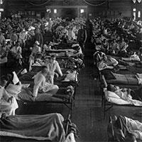 Thời tiết xấu - nguyên nhân chính dẫn đến một trong những dịch cúm tồi tệ nhất lịch sử loài người