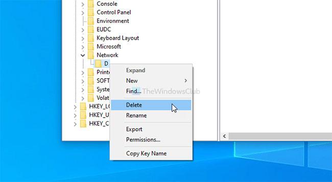 Khắc phục lỗi không thể ánh xạ ổ đĩa mạng trong Windows 10
