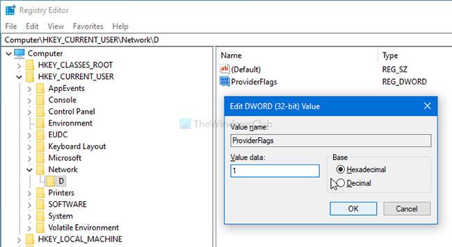 Khắc phục lỗi không thể ánh xạ ổ đĩa mạng trong Windows 10 - Ảnh minh hoạ 3