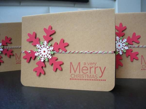 , Hướng dẫn 25 cách làm thiệp Giáng sinh đẹp và cực dễ cho bạn [NEW]