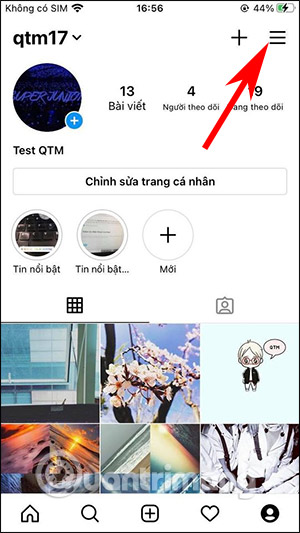 Cách chặn nhận tin nhắn Messenger trên Instagram