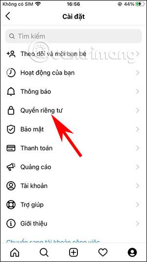 Cách chặn nhận tin nhắn Messenger trên Instagram - Ảnh minh hoạ 2