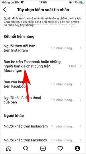 Cách chặn nhận tin nhắn Messenger trên Instagram - Ảnh minh hoạ 4