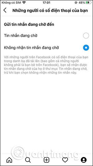 Cách chặn nhận tin nhắn Messenger trên Instagram - Ảnh minh hoạ 8