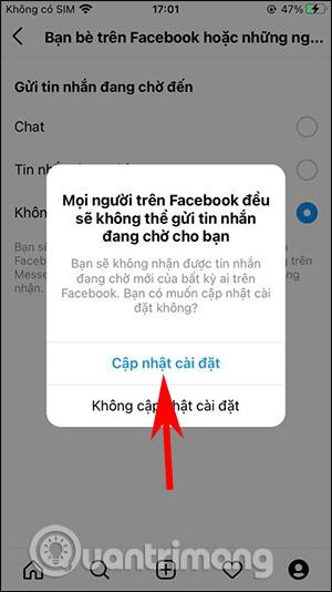 Cách chặn nhận tin nhắn Messenger trên Instagram - Ảnh minh hoạ 5