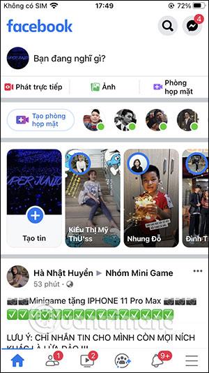 Đăng tin Facebook