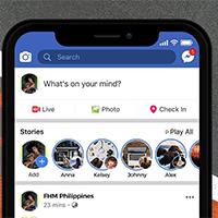Cách chèn hiệu ứng hoạt ảnh trên Story Facebook