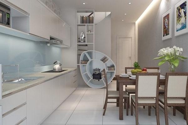 Phòng bếp cho nhà ống
