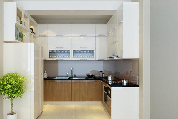 Phòng bếp đẹp cho nhà ống 11
