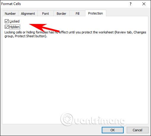 Cách ẩn công thức trong Excel - Ảnh minh hoạ 2