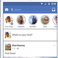 Cách chèn nhiều ảnh vào Story Facebook